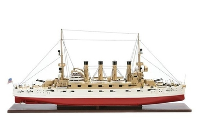 Model Boat, USS North Carolina.