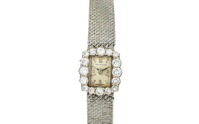 Jaeger LeCoultre - Jaeger LeCoultre Diamond Ladies Watch in 18K White Gold