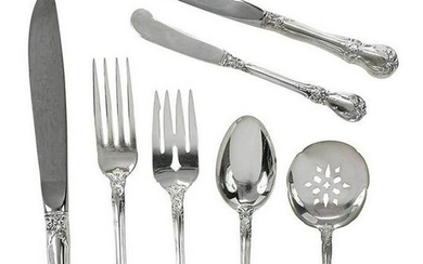 Towle Old Master Sterling Flatware, 58 Pieces