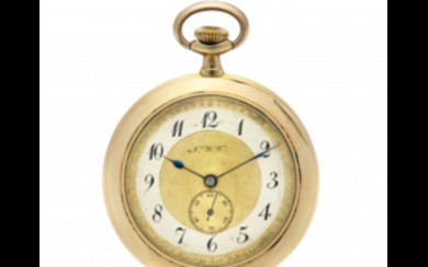 NWC Gent's 18K gold pocket watch Early 20th century...