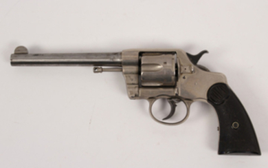 "Colt New Service 38 caliber ""late Model"" Colt revolver"
