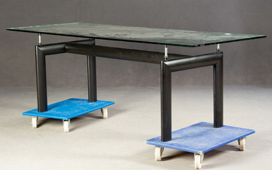 Le Corbusier, dining table / table, model LC 6 by Cassina