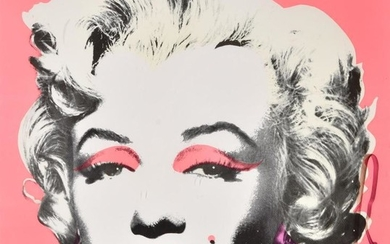 Andy Warhol (American 1928-1987), Marilyn (Announcement)