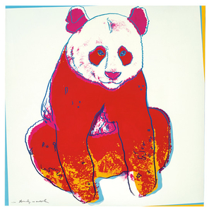 Andy Warhol - Andy Warhol: Giant Panda (from Endangered Species Portfolio)