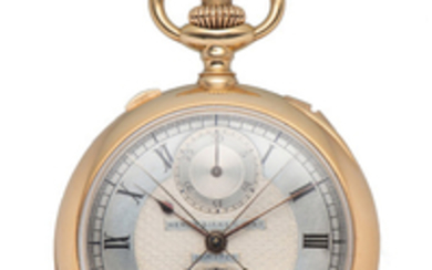 C.H. MEYLAN FOR BIRKS & SONS, POCKET WATCH, MINUTE REPEATER, PINK GOLD