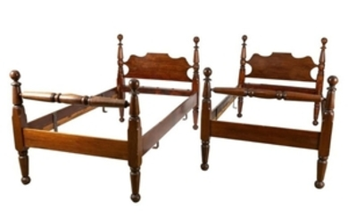 Cannonball Rope Beds - Pair