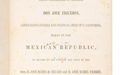 Don Jose Figueroa The Manifesto 1855
