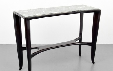 Marble Top Console Table, Manner of Paolo Buffa - Paolo Buffa, manner of