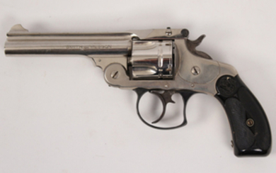 Smith and Wesson model 2 double action top break 38 caliber revolver