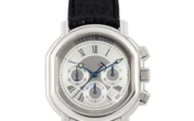Daniel Roth. A Stainless Steel Chronograph Wristwatch with date