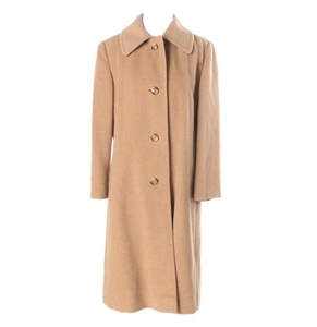 100 camel hair women's coat