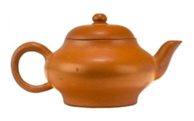 A Chinese Yixing small teapot, 19th century,...