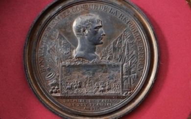 A COMMEMORATIVE MEDAL OF THE BATTLE OF MARENGO