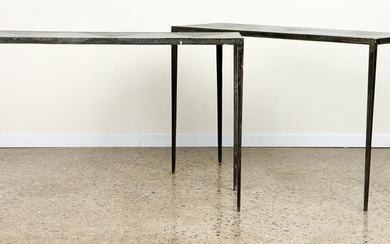 PR IRON CONSOLE TABLES MANNER JEAN-MICHEL FRANK