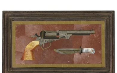 Richard Blow, Untitled (Pistol with knife)