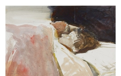 ANDREW WYETH | STUDY FOR 'MARRIAGE'