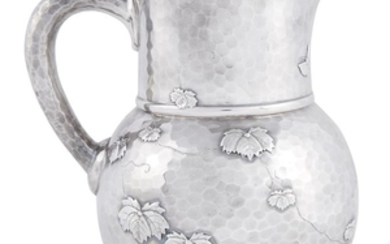 Hammered sterling silver Japanese-style pitcher Tiffany & Co., New...
