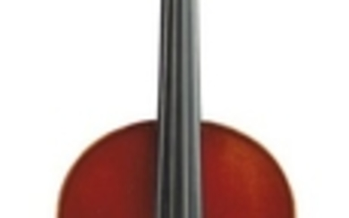 Modern French Violin - Mirecourt, c. 1930, labeled… VUILLAUME…, length of two-piece back 358 mm.