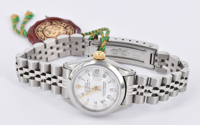 A ROLEX OYSTER PERPETUAL DATEJUST 1988 WRISTWATCH