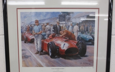 Ten assorted motoring and motorsport prints,