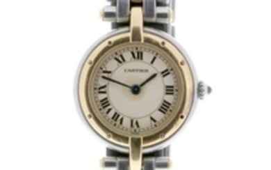Cartier - Panthère Ronde VLC Yellow Gold and Stainless Steel - 188920 - Women - 1987