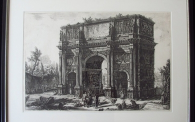 Piranesi, Giovanni: THE ARCH OF CONSTANTINE, Year 1771