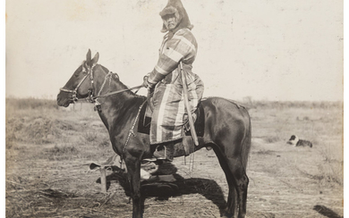 Unknown Artist (20th Century), An Unusual Album of 46 Photographs of Mongolia (circa 1920)