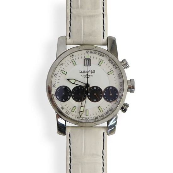 Eberhard Chrono 4 Steel Chronograph Automatic Watch