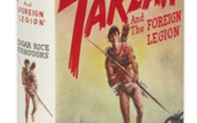 "BURROUGHS, EDGAR RICE. Tarzan and ""The Foreign..."