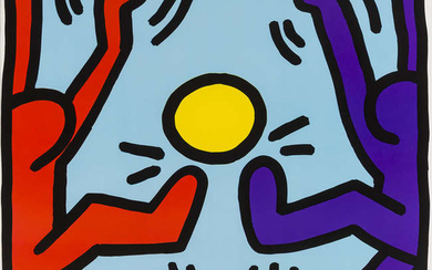Keith Haring (1958-1990) (after) Untitled