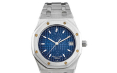Audemars Piguet. A Limited Edition Stainless Steel Bracelet Watch with Date