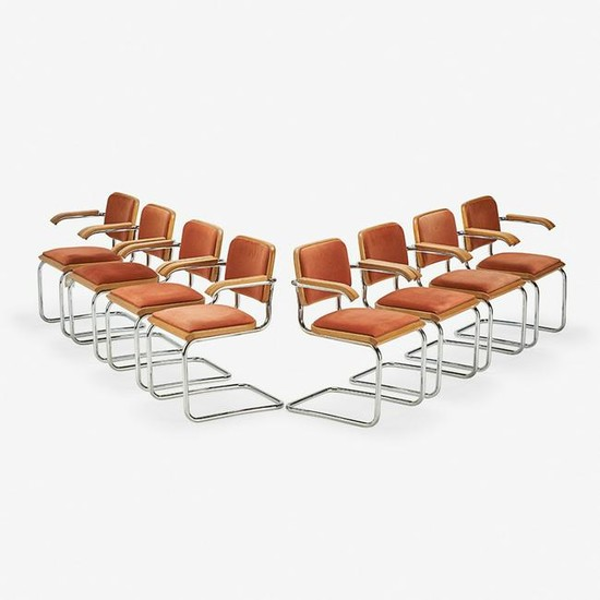 MARCEL BREUER FOR THONET ARMCHAIRS