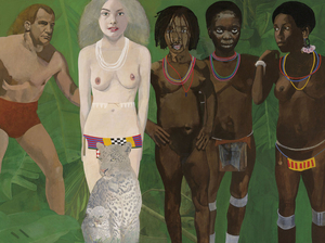 Sir Peter Blake, R.A. (b. 1932), Tarzan Meets the Jungle Goddess