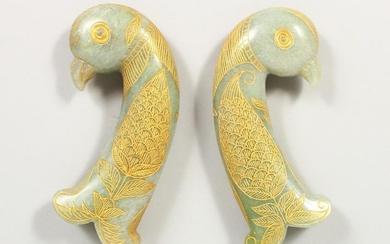 A GOOD PAIR OF EARLY 20TH CENTURY INDIAN / PERSIAN