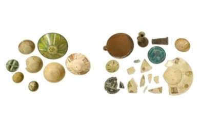 A MISCELLANEOUS SELECTION OF EARLY ISLAMIC WARES