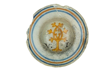Bowl Bowl with the coat of arms of the Oak...