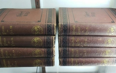 "Circa 1855 ""Shakespeare's Works"" 8 Volume Set Published"