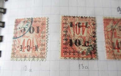 Old French colonies - Significant stock of stamps including Indochina.