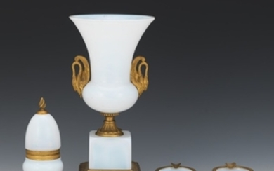 French Opaline Glass Table Set