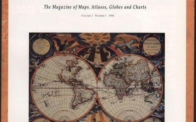 "NO RESERVE, ""Mercator's World - The Magazine of Maps, Atlases, Globes and Charts Volume I Number I"""