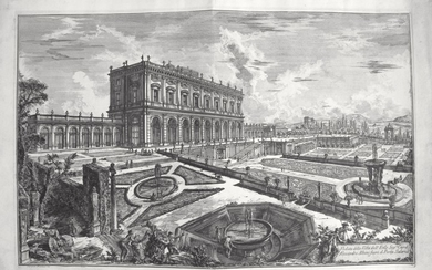 Piranesi, Giovanni: THE VILLA ALBANI, Year 1769