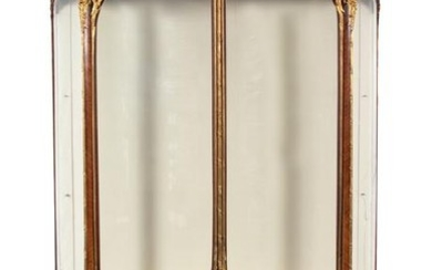 A Louis XV Style Gilt Bronze Mounted Parquetry Vitrine