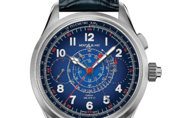 MONTBLANC 1858 SPLIT SECOND CHRONOGRAPH ONLY WATCH 2019 In the spirit of mountain exploration, Montblanc reinterprets an historical Minerva military monopusher chronograph from the 1930's with the one-of-a kind 1858 Split Second Chronograph Only Watch...,
