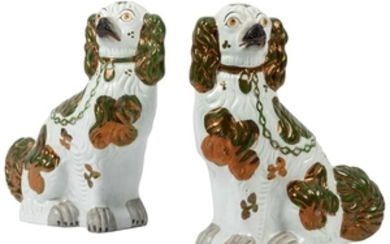 Staffordshire Dogs - Pair