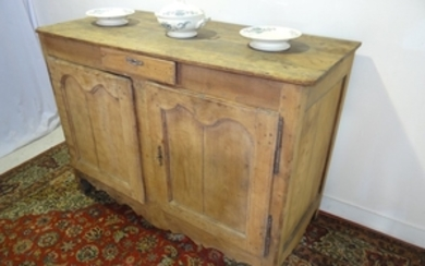 LOUIS XV STYLE FADED FRUITWOOD BUFFET