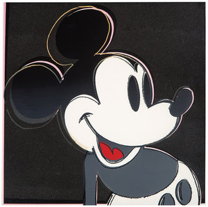 Andy Warhol - Andy Warhol: Mickey Mouse (from Myths)