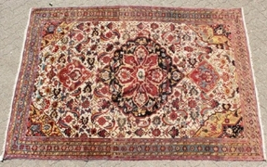 A VERY FINE AND RARE ANTIQUE 19TH CENTURY PERSIAN