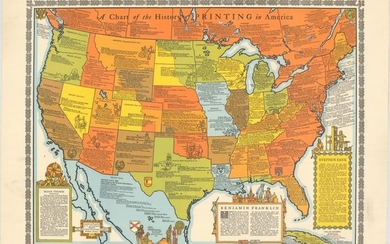 """""""A Chart of the History of Printing in America"""""""