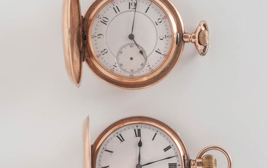"""9kt Gold Zenith """"Prima"""" and a 14kt Gold Unmarked Watch"""