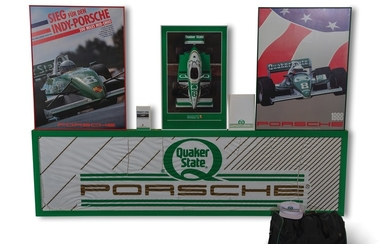 Porsche Quaker State Racing Posters and Collectibles